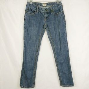 Free People  Straight Skinny Jeans Size 27